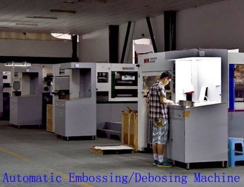Post-stampa Finish Machines