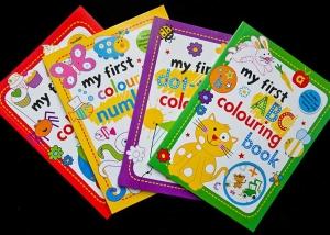 colorare Sticker Book