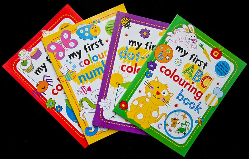 colorare Sticker Book