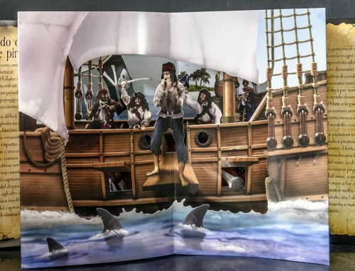 Pop up Libro Pirati 3D