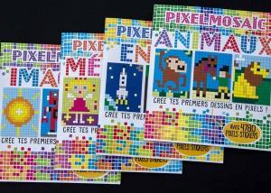 Pixel Art Sticker Book