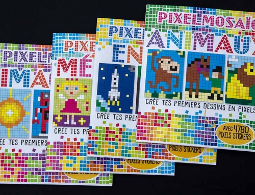 libro Pixel Art Sticker