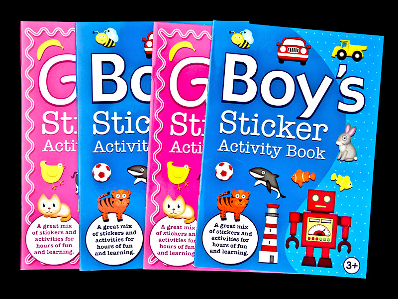 Sticker Activity Book 3