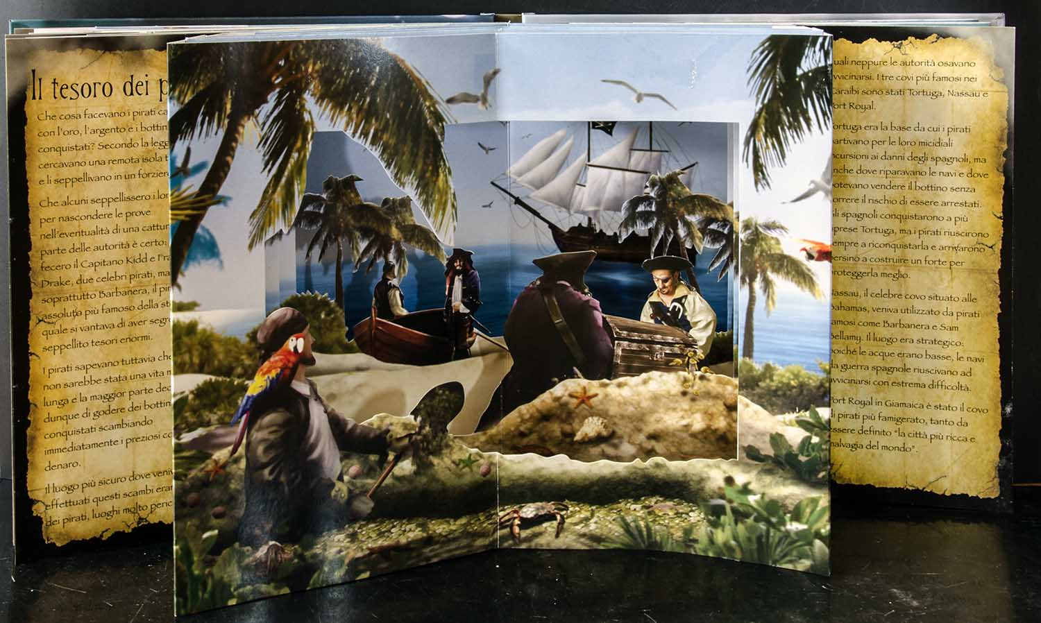 Pop up book Pirati